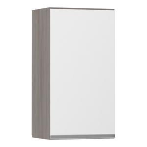 Armário de Cozinha 1 Porta 31x75x40cm Branco Prime Luciane
