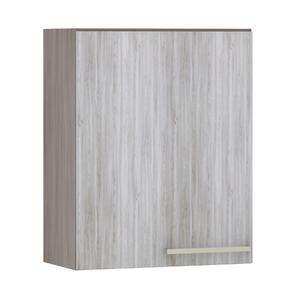 Armário de Cozinha 1 Porta 31x75x60cm Frassino Bianco Prime Luciane