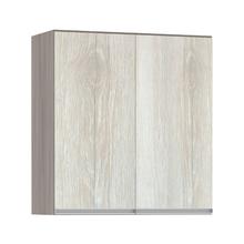 Armário de Cozinha 2 Portas 31x75x70cm Legno Crema Prime Luciane