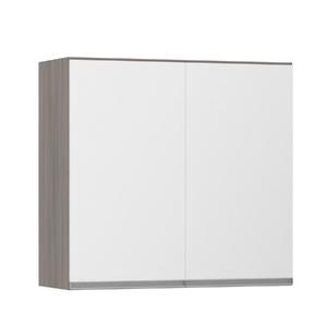Armário de Cozinha 2 Portas 31x75x80cm Branco Prime Luciane