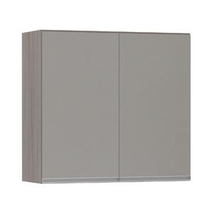 Armário de Cozinha 2 Portas 31x75x80cm Capuccino Prime Luciane