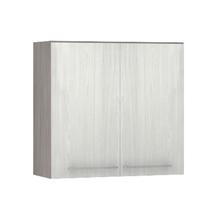 Armário de Cozinha 2 Portas 31x75x80cm Frassino Bianco Prime Luciane