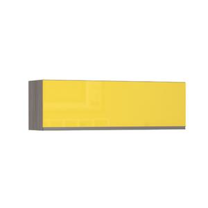 Armário de Cozinha Basculante 31x37,5x120cm Amarelo  Prime Luciane