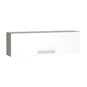 Armário de Cozinha Basculante 31x37,5x120cm Branco Prime Luciane
