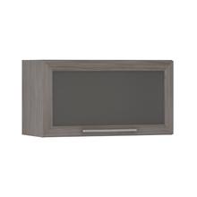 Armário de Cozinha Basculante 31x37,5x70cm Vidro Prime Luciane