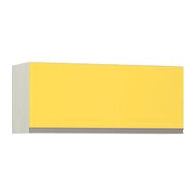 Armário de Cozinha Basculante 31x37,5x90cm Amarelo  Prime Luciane