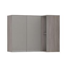 Armário de Cozinha Canto 54,5x75x95cm Capuccino Prime Luciane