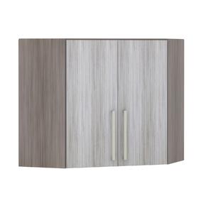 Armário de Cozinha Canto Diagonal 76x75x76cm Canova Prime Luciane