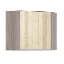 Armário de Cozinha Canto Diagonal 76x75x76cm Cedro Prime Luciane