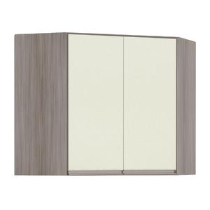 Armário de Cozinha Canto Diagonal 76x75x76cm Kashmir Prime Luciane