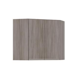 Armário de Cozinha Canto Diagonal 76x75x76cm Malbec Prime Luciane