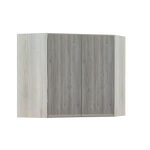 Armário de Cozinha Canto Diagonal 76x75x76cm Nodo Prime Luciane