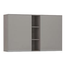 Armário de Cozinha com Nicho Vertical 31x75x120cm Capuccino Prime Luciane