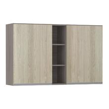 Armário de Cozinha com Nicho Vertical 31x75x120cm Cedro Prime Luciane
