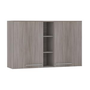Armário de Cozinha com Nicho Vertical 31x75x120cm Malbec Prime Luciane
