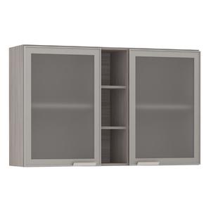 Armário de Cozinha com Nicho Vertical 31x75x120cm Miniboreal Prime Luciane