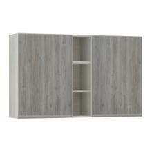 Armário de Cozinha com Nicho Vertical 31x75x120cm Nodo Prime Luciane