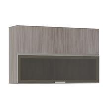 Armário de Cozinha Duplo 31x75x120cm Malbec Prime Luciane