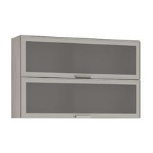Armário de Cozinha Duplo 31x75x120cm Miniboreal Prime Luciane