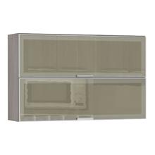 Armário de Cozinha Duplo 31x75x120cm Reflecta Prime Luciane