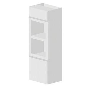 Armário de Cozinha Madeira Branco Bonatto Montreal 210x70x56cm