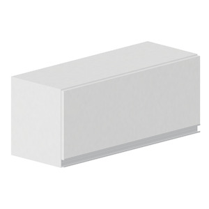 Armário de Cozinha Madeira Branco Bonatto Montreal 33,5x80x31,5cm