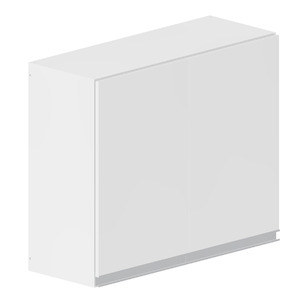 Armário de Cozinha Madeira Branco Bonatto Montreal 67x80x31,5cm