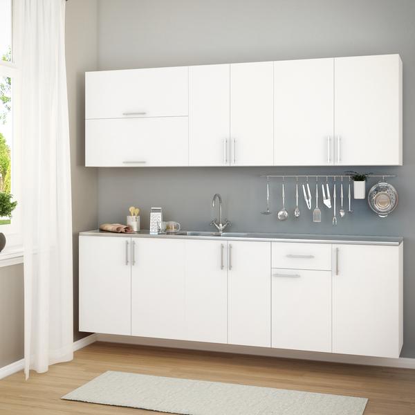 Armarios Para Jardin Ikea ~ Armário de Cozinha Madeira Branco 70x60x36cm Leroy Merlin