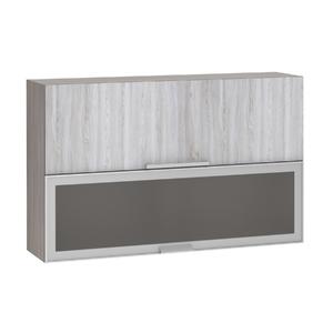 Armário de Cozinha Misto 31x75x120cm Canova Prime Luciane