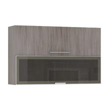 Armário de Cozinha Misto 31x75x120cm Malbec Prime Luciane