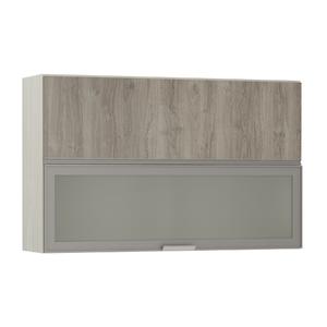 Armário de Cozinha Misto 31x75x120cm Miniboreal Prime Luciane