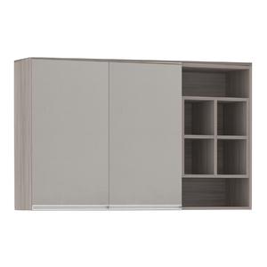 Armário de Cozinha Nicho Lateral 31x75x120cm Capuccino Prime Luciane