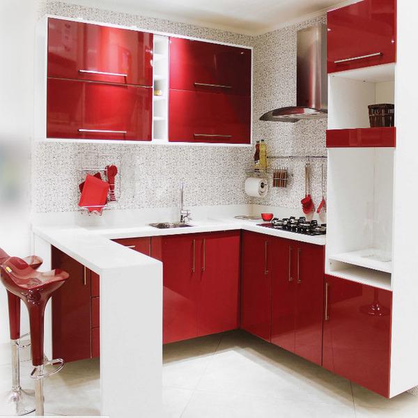 Aparador Amarelo Laqueado ~ Armário de Cozinha de Cozinha Superior MDP Lacca Berinjela 1 Porta para Cozinha MDF Nice Delinia