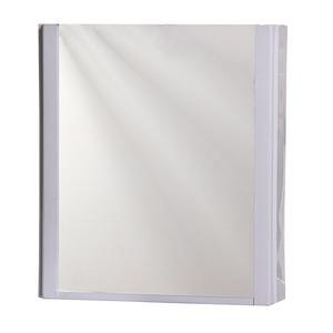 Armário de plástico com espelho Embutir 32x36 Branco 401 Pavão