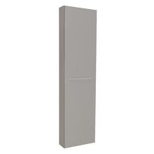 Armário Modulado para Banheiro 173x45x14cm Cinza Remix