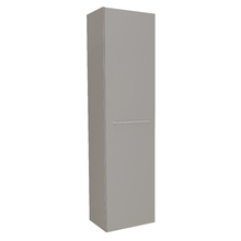 Armário Modulado para Banheiro 173x45x32cm Cinza Remix