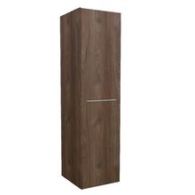 Armário Modulado para Banheiro 173x45x46cm Amadeirado Escuro Remix