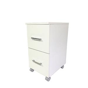 Armário Modular de Banheiro Multiuso Madeira Branco 59X30X40cm Cielo Astral Design