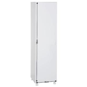 Armário Multiuso Branco 188,8x45x46,5cm