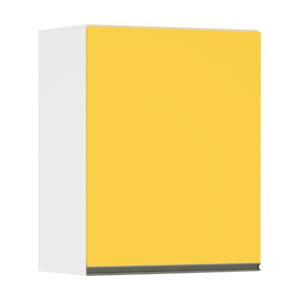 Armário Superior 1 Porta Amarela 10x75,4x60cm Spring
