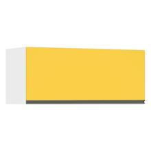 Armário Superior 1 Porta Basculante Amarela 8,2x89,7x37,5cm Spring