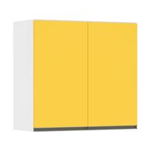 Armário Superior 2 Portas Amarela 14x80,5x77cm Spring