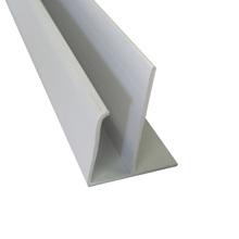 Arremate Flexível de PVC 600x28cm Qualiplast