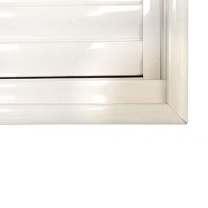 Arremate para Porta Giro 215x215 cm Branco Jap Janelas