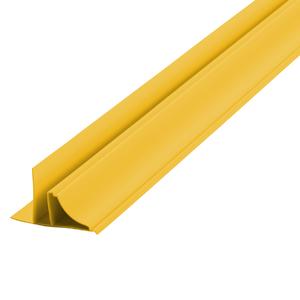 Arremate Rígido de PVC Amarelo 6m Araforros