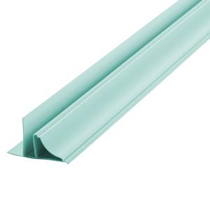 Arremate Rígido de PVC Azul 6m Araforros