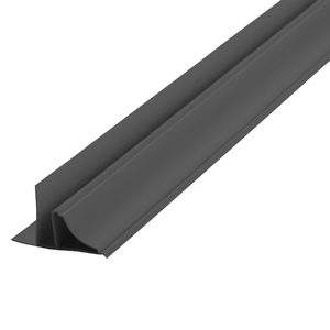 Arremate Rígido de PVC Cinza 6m Araforros