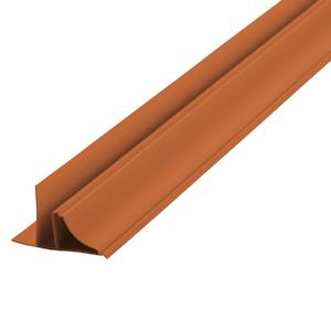 Arremate Rígido de PVC Ocre 6m Araforros