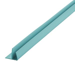 Arremate Rígido de PVC Turquesa 6m Araforros