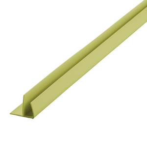 Arremate Rígido de PVC Verde 6m Araforros